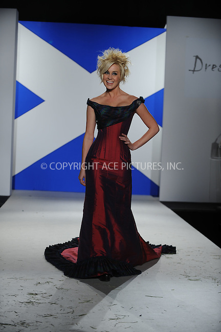 WWW.ACEPIXS.COM..March 30 2009, New York City..American Idol star Kellie Pickler poses in the 'Dressed To Kilt' charity fashion show benefiting Friends of Scotland at M2 Lounge on March 30, 2009 in New York City...Please byline: Kristin Callahan - ACEPIXS.COM...*** ***...Ace Pictures, Inc.tel: (212) 243 8787.e-mail: info@acepixs.com.web: http://www.acepixs.com..© 2009 Kristin Callahan/ACE Pictures.