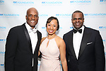 Kenny Leon and Kasim Reed attend the SDC Foundation presents The Mr. Abbott Award honoring Kenny Leon at ESPACE on March 27, 2017 in New York City.