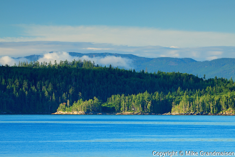 Coastal landscape<br /> The Sunshine Coast<br /> British Columbia<br /> Canada