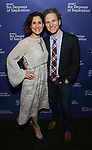 Stephanie J Block and Sebastian Arcelus attends the Opening Night Performance of 'Six Degrees Of Separation' at the Barrymore Theatre on April 25, 2017 in New York City.