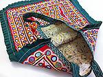 VINTAGE RABARI THELI BAG WITH MIRROR EMBROIDERY, GUJARAT, INDIA