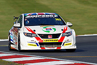Round 10 of the 2018 British Touring Car Championship.  #303 Matt Simpson. Team Simpson Racing. Honda Civic Type R.