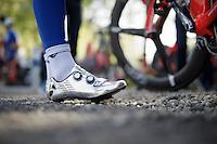 Cinderella or cyclist?<br /> <br /> pre-Giro TT-training ride in Gelderland (The Netherlands)<br /> <br /> 99th Giro d'Italia 2016