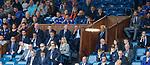 21.07.2019: Rangers v Blackburn Rovers: Rangers directors box
