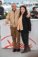 "CANNES, FRANCE. May 19, 2019: Claude Lelouch & Anouk Aimee at the photocall for ""The Most Beautiful Years of a Life"" at the 72nd Festival de Cannes.<br /> Picture: Paul Smith / Featureflash"