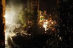 Bombing from Sunday night in the Achrafieh neighborhood of Beirut, Lebanon, May 20, 2007