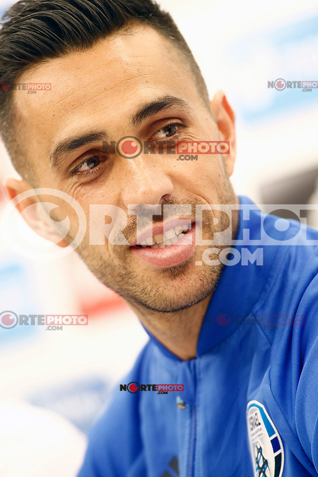 Israel's Eran Zahavi in press conference after training session. March 23,2017.(ALTERPHOTOS/Acero) /NortePhoto.com