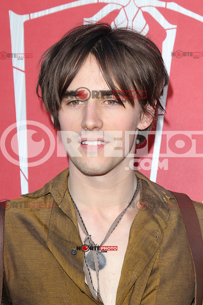 Reeve Carney at the premiere of Columbia Pictures' 'The Amazing Spider-Man' at the Regency Village Theatre on June 28, 2012 in Westwood, California. &copy; mpi22/MediaPunch Inc. *NORTEPHOTO.COM*<br />