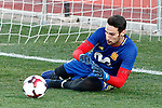Spain's Sergio Rico during training session. March 20,2017.(ALTERPHOTOS/Acero)