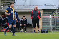 Bedford and District Sunday Football League Britannia Harrison & Rowley Cup Final between AC Sportsman (Red Lion Wilstead) and Tiger Moth (Bedford)  at HIllgrounds Stadium, Kempston, England on 5 May 2017. Photo by David Horn/PRiME Media Images