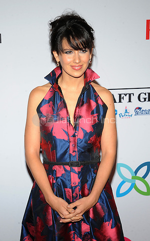 New York,NY- October 28: Hilaria Baldwin  attends the Elton John AIDS Foundation's 13th Annual An Enduring Vision Benefit at Cipriani Wall Street on October 28, 2014 in New York City In New York City on October 27, 2014 . Credit: John Palmer/MediaPunch