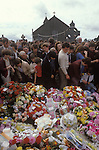 Funeral Northern Ireland 1980s UK