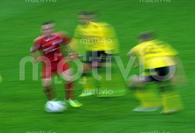 FUSSBALL   1. BUNDESLIGA  SAISON 2011/2012   13. Spieltag FC Bayern Muenchen - Borussia Dortmund        19.11.2011 Allgemeines Foto