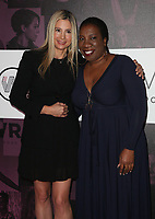 02 November 2018 - Los Angeles, California - Mira Sorvino and Tarana Burke. TheWrap&rsquo;s Power Women&rsquo;s Summit held at the InterContinental Hotel. <br /> CAP/ADM/FS<br /> &copy;FS/ADM/Capital Pictures