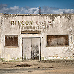 Abandoned gas station and cafe (Rincon Cafe), Gonzales, Calif.