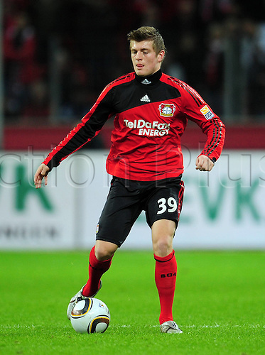 Bundesliga Season Bayer Leverkusen v FC Cologne Toni KroBayer Leverkusen. Photo: Imago/Actionplus. Editorial Use UK.