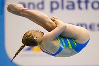 Tina Punzel GER<br /> 3m Springboard Women preliminary<br /> Day 06 14/06/2015  <br /> 2015 Arena European Diving Championships<br /> Neptun Schwimmhalle<br /> Rostock Germany 09-14 June 2015 <br /> Photo Giorgio Perottino/Deepbluemedia/Insidefoto