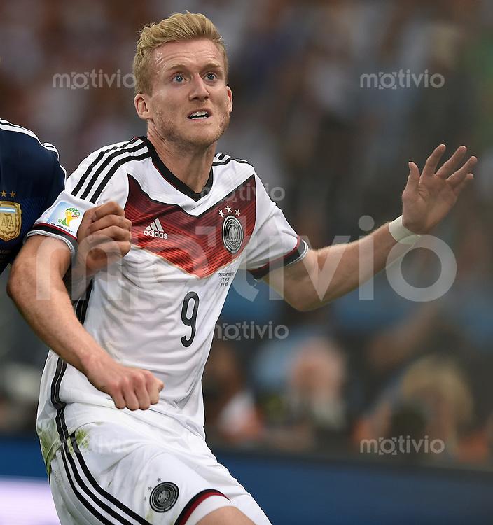 FUSSBALL WM 2014                FINALE Deutschland - Argentinien     13.07.2014 Andre Schuerrle (Deutschland)