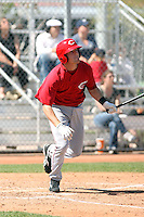 Zack Cozart, Cincinnati Reds 2010 minor league spring training..Photo by:  Bill Mitchell/Four Seam Images.