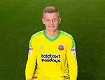 Jake Eastwood of Sheffield Utd during the 2017/18 Photocall at Bramall Lane Stadium, Sheffield. Picture date 7th September 2017. Picture credit should read: Sportimage