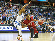 Washington, DC - March 10, 2018: Saint Joseph's Hawks guard Nick Robinson (5) in action during the Atlantic 10 semi final game between Saint Joseph's and Rhode Island at  Capital One Arena in Washington, DC.   (Photo by Elliott Brown/Media Images International)