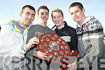 Overall winners of the boys schools competition in the Kerry Colleges Cross Country competitions in Killarney on Wednesday were Daniel Galazka, Stephen Walsh, Dermot Twomey and David Rusk..
