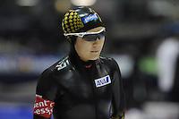 SCHAATSEN: HEERENVEEN: IJsstadion Thialf, 16-11-2012, Essent ISU World Cup, Season 2012-2013, Ladies 3000 meter Division A, Masako Hozumi (JPN), ©foto Martin de Jong