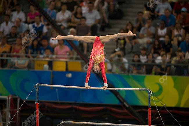 Women' Gymnastics Team final, Yang Yilin (China) - gold, Summer Olympics, Beijing, China, August 13, 2008