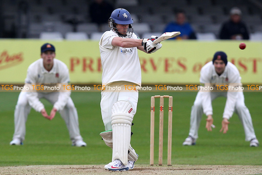 Sam Northeast in batting action for Kent - Essex CCC vs Kent CCC - Pre-Season Friendly Cricket Match at the Essex County Ground, Chelmsford - 04/04/14 - MANDATORY CREDIT: Gavin Ellis/TGSPHOTO - Self billing applies where appropriate - 0845 094 6026 - contact@tgsphoto.co.uk - NO UNPAID USE