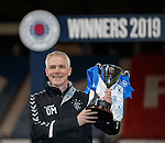 25.04.2019 Celtic v Rangers youth cup final: Rangers manager David McCallum