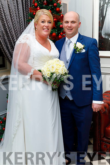 O'Rahilly/Leahy wedding in the Ballyroe Heights Hotel on Saturday December 14th.