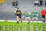 Shane DoolanDr Crokes sticks close to Legion's James O'Donoghue during the O'Donoghue cup final in Fitzgerald Stadium on Sunday