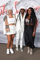 Cosha, Nile Rogers &amp; NAO arriving for the Serpentine Summer Party 2018, Hyde Park, London, UK. <br /> 19 June  2018<br /> Picture: Steve Vas/Featureflash/SilverHub 0208 004 5359 sales@silverhubmedia.com