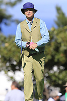 Bill Murray on the 9th green during Thursday's Round 1 of the 2018 AT&amp;T Pebble Beach Pro-Am, held over 3 courses Pebble Beach, Spyglass Hill and Monterey, California, USA. 8th February 2018.<br /> Picture: Eoin Clarke | Golffile<br /> <br /> <br /> All photos usage must carry mandatory copyright credit (&copy; Golffile | Eoin Clarke)