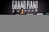 Actress and TV presenter Cristina Pedroche attends 'Grand Piano' photocall at the Capitol cinema on October 15, 2013 in Madrid, Spain. (ALTERPHOTOS/Victor Blanco)