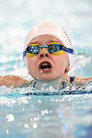 Picture by Richard Blaxall/SWpix.com - 15/04/2018 - Swimming - EFDS National Junior Para Swimming Champs - The Quays, Southampton, England - Meghan Willis of Torfaen in action during the Women's 100m MC Butterfly