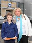 Lee and Pauline Murphy pictured at the Western Motors open day. Photo: Colin Bell/pressphotos.ie