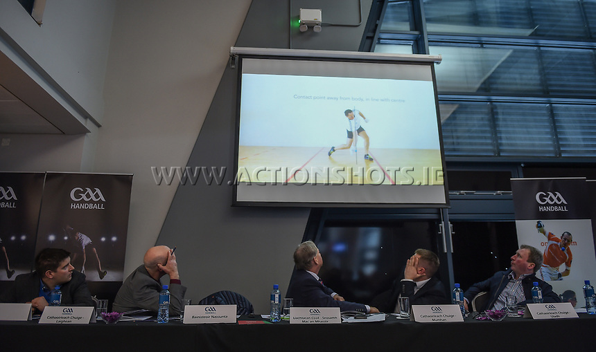 04/02/2018; GAA Handball Annual Congress 2018; Croke Park, Dublin;<br /> General view of congress.<br /> Photo Credit: actionshots.ie/Tommy Grealy