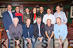 Mike O'Donoghue presents the winning team The Tatler Jack team their prizes at the Legion GAA golf classic awards ceremony in the Killarney Avenue Hotel on Friday night front row l-r: Denny Murphy, John Lynch, Mike O'Donoghue, Donie Wrenn, Der Brosnan. Back row: Donal Culloty, John Regan, Billy O'Connor, Margaret Doyle, Brendan Keogh, Harry O'Neill and Sean Murphy.