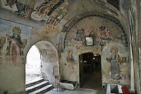 BG51466.JPG BULGARIA, BATCHKOVO MONASTERY, CHURCH OF SVETA-BOGORODITSA , 1604, frescoes