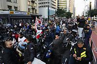 25.05.2018 - Protesto de Motoqueiros na Avenida Paulista em SP