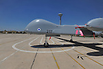 "The ""Eitan"" UAV at Tel-Nof Israeli Airforce base."
