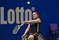 December 16, 2014, Rotterdam, Topsport Centrum, Lotto NK Tennis, Aniek van Koot (NED)<br /> Photo: Tennisimages/Henk Koster