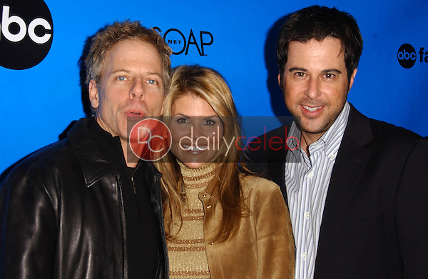Greg Germann with Lori Loughlin and Jonathan Silverman<br />
