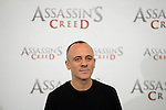 "Javier Gutierrez during the presentation of the film ""Assassin's Creed"" in Madrid, Spain. December 07, 2016. (ALTERPHOTOS/BorjaB.Hojas)"