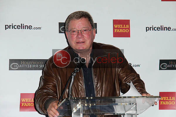 William Shatner<br /> at the Priceline.com Hollywood Charity Horse Show Event, Firenze Osteria, Toluca Lake, CA 01-29-14<br /> David Edwards/DailyCeleb.com 818-249-4998