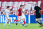 Guangzhou Midfielder Zheng Zhi (C) in action during the AFC Champions League 2017 Round of 16 match between Guangzhou Evergrande FC (CHN) vs Kashima Antlers (JPN) at the Tianhe Stadium on 23 May 2017 in Guangzhou, China. (Photo by Power Sport Images/Getty Images)