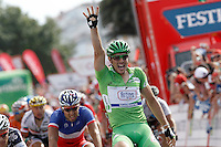 John Degenkolb celebrates his fourth victory of stage during La Vuelta 2012 in the sprint final of the stage between Ponteareas and Sanxenxo.August 28,2012. (ALTERPHOTOS/Acero) /NortePhoto.com<br /> <br /> **CREDITO*OBLIGATORIO** <br /> *No*Venta*A*Terceros*<br /> *No*Sale*So*third*<br /> *** No*Se*Permite*Hacer*Archivo**<br /> *No*Sale*So*third*