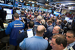 Busy Trading Floor 2016