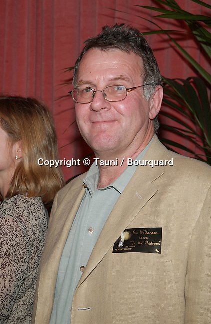 "Tom Wilkinson, nominated for best actor for ""In the Bedroom,"" arrives at the nominees luncheon for the 74th Annual Academy Awards at the Beverly Hilton Hotel in Beverly Hills, CA., Monday, March 11, 2002.           -            WilkinsonTom02B.jpg"